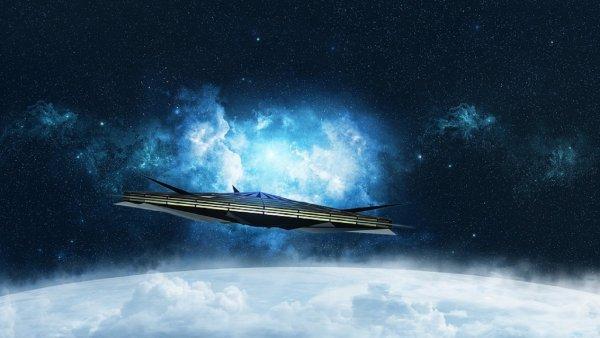 Над Веной заметили НЛО странной формы