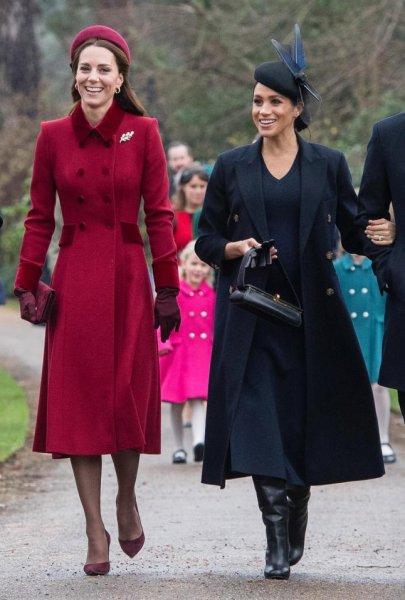Кейт Миддлтон и Меган Маркл окончательно помирились ради здоровья Елизаветы II