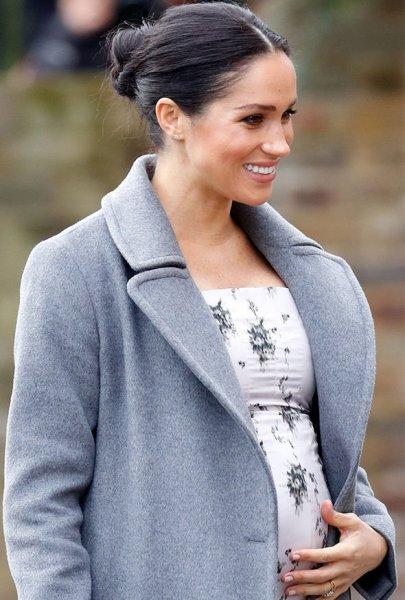 Акушер: У беременной Меган Маркл и принца Гарри родится мальчик