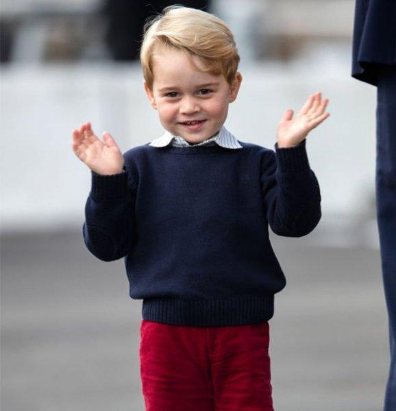 Королева в недоумении: Сын Кейт Миддлтон принц Джордж называет себя «Арчи» - СМИ