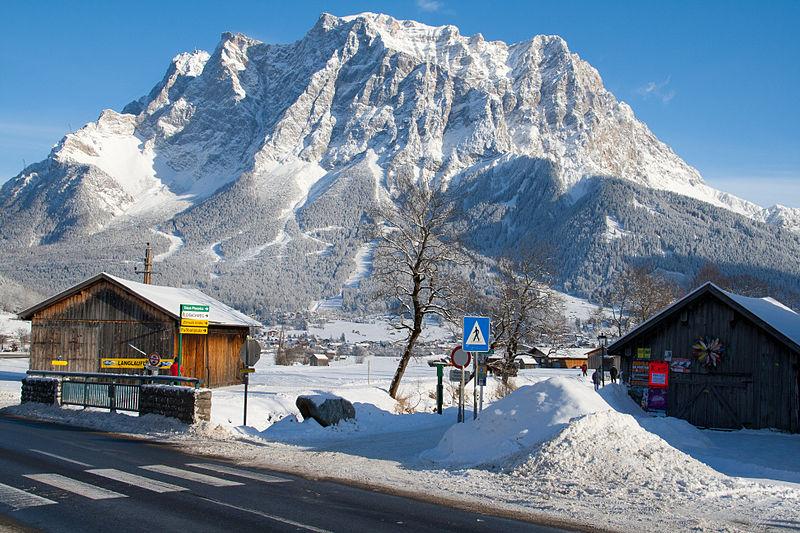 Зимние игры в Альпах
