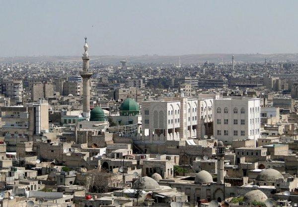 В Сети показали видео удара Израиля по Сирии