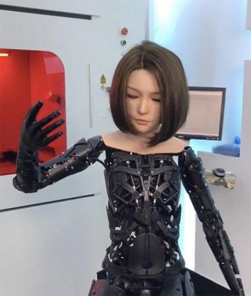 Секс-роботы с искусственным интеллектом впервые были напечатаны на 3D-принтере