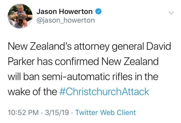 Главная цель США: Все идет по плану террориста после теракта в Новой Зеландии