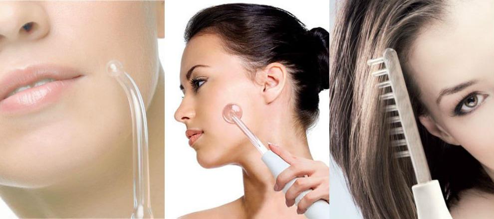 Применение аппарата дарсонваль для омоложения кожи лица